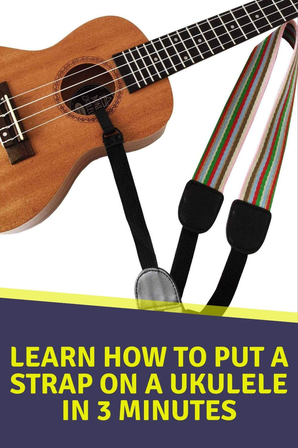 Learn How to Put a Strap on a Ukulele in 3 minutes